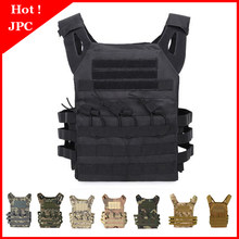 Jacht Tactical Body Armor Jpc Molle Plate Carrier Vest Outdoor Cs Game Paintball Airsoft Vest Militaire Apparatuur(China)