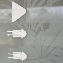5 шт детские безопасные раздвижные замки с бабочками защита