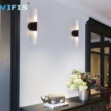 Bathroom Led Vanity Lighting Fixtures AC110-220VModern Wall Light for Beside Bedroom Mirror Wall Lamp 5W Black/Gold