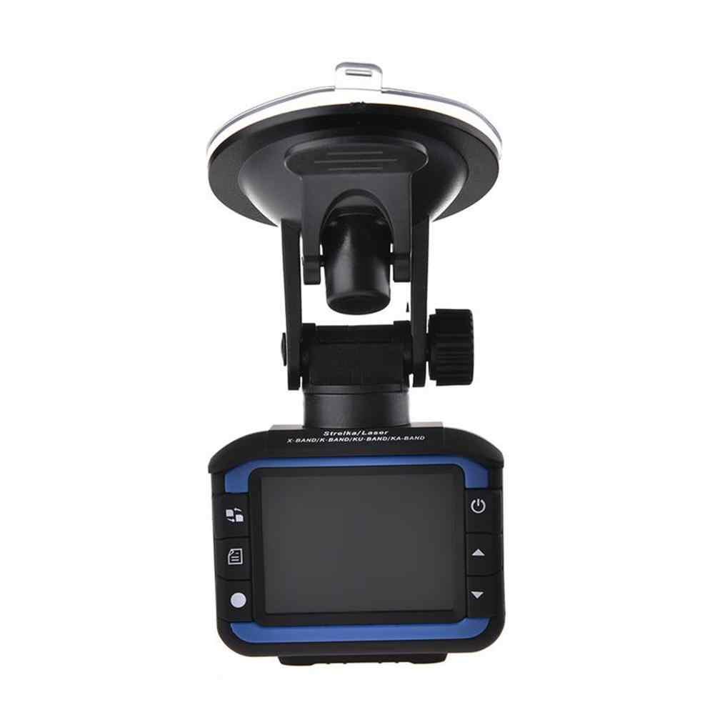 2 en 1 Anti Laser voiture Radar détecteur Dash Cam voiture DVR caméra enregistreur 140 degrés Dashcam HD 720P voix anglaise et russe