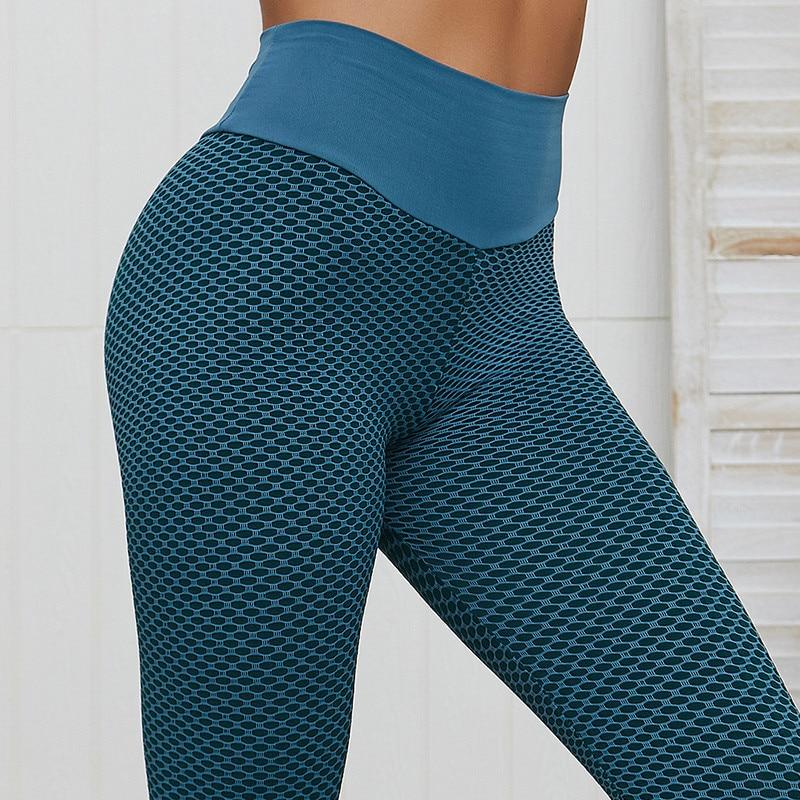 SVOKOR Dot Women Leggings High Waist Fitness Legging Push Up Ladies Seamless Workout Pants Female Leggins Mujer Polyester Casual 3