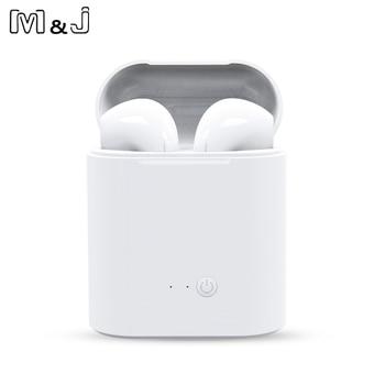Hot Sale I7s  TWS Bluetooth Earphone Stereo Earbud Wireless Bluetooth Earphones In-ear Headsets For All Smart Phone