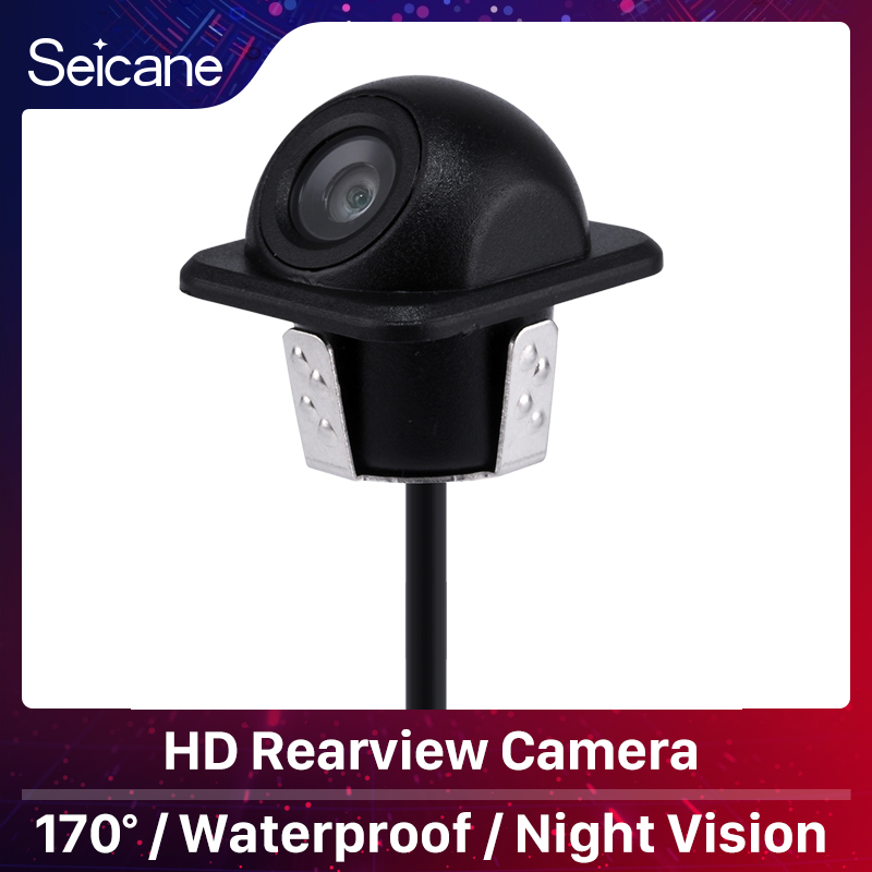Seicane Car Parking Assistance system 170 Degree Hi-definition Color  Wide Angle Reversing Camera With Waterproof Night Vision