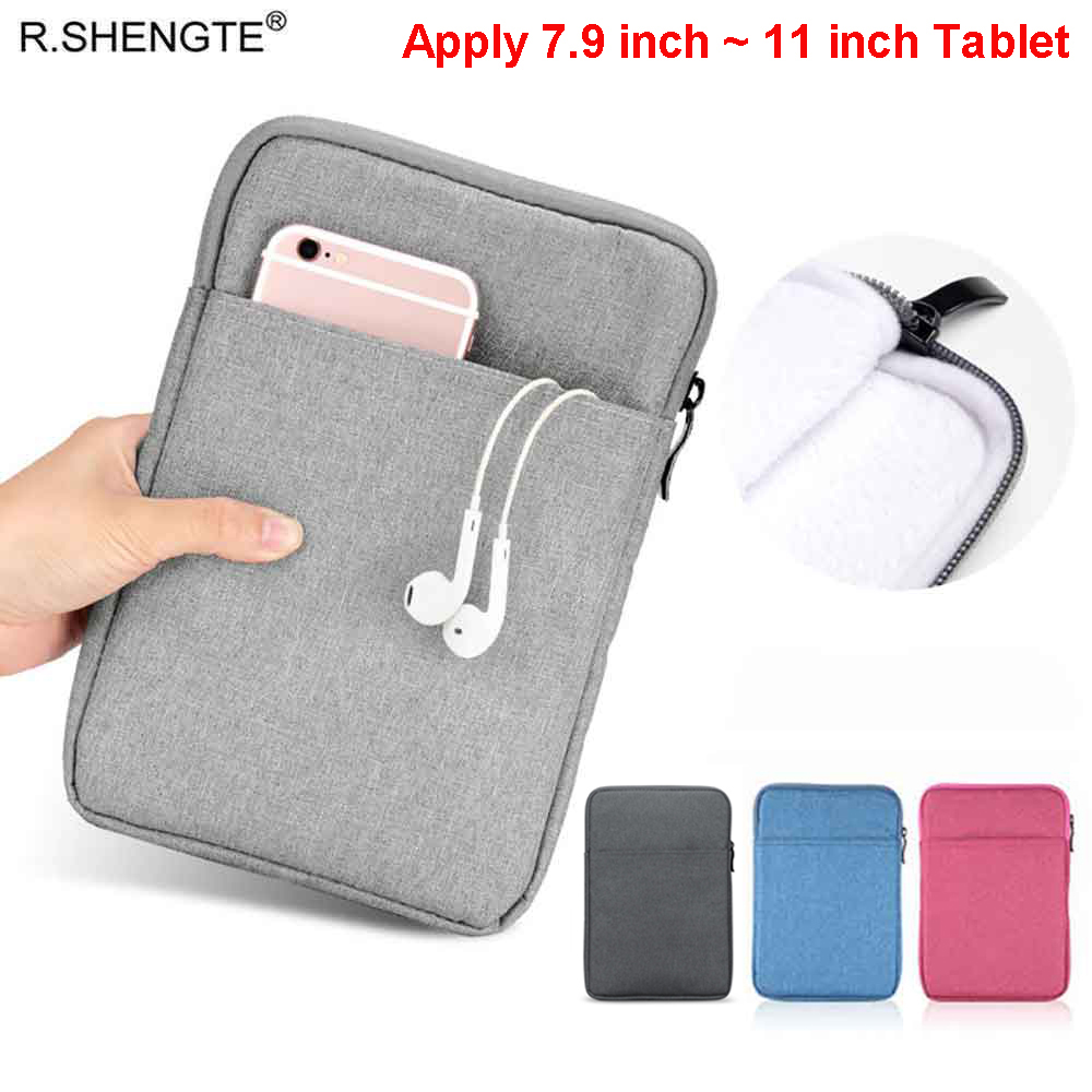 11 Inch Shockproof Tablet Sleeve Case For IPad 2018 2017 IPad 2 3 4 Pro 9.7/10.2/10.5/11 Inch Protective Travel Cover Pouch Bags