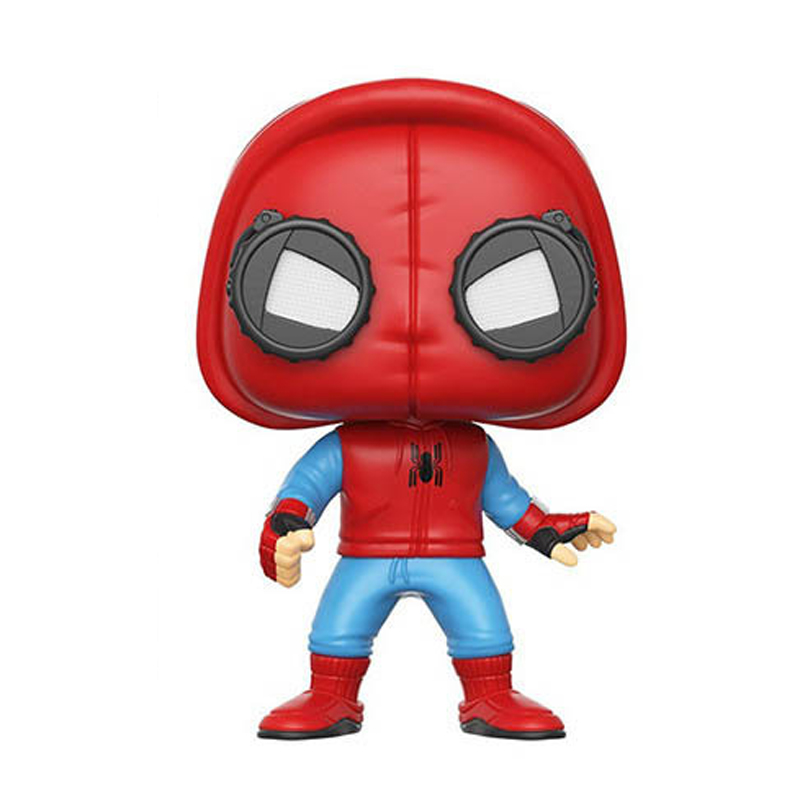 Movie super heroes Sweater spiderman homecoming action figures 10cm marvel <font><b>222</b></font> model doll toys collection for gifts image
