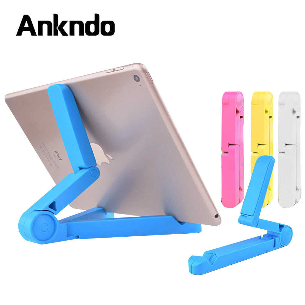 ANKNDO Phone Holder Foldable Tablet Holder Desktop Stand Universal Mobile Support Desk Mount For Xiaomi Huawei Samsung Cellphone
