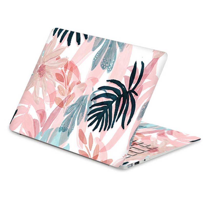 Laptop foil leaf flamingo girl notebook skin for MacBook Pro 13.3 Air 13.3 retina15 for Apple vinyl stickers Waterproof gift