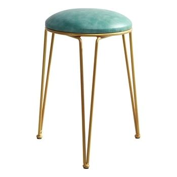 Nordic simple small stool home makeup bedroom dressing stool manicure stool milk tea stool fitting room beauty stool