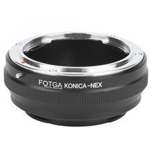 FOTGA адаптер для объектива Konica-NEX адаптер для объектива KONICA AR объектив для sony NEX беззеркальная камера объектив