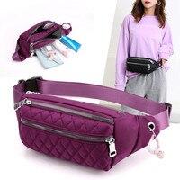 Vento Marea-riñonera de viaje para mujer, bolso de pecho informal de nailon, impermeable, con cinturón, bolsa deportiva de gran capacidad, 2020