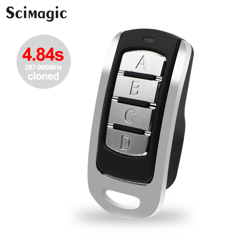 Remote Control Multi Frequency Duplicate 300mhz To 900mhz 4 Channel Command Handzender Garage Door Opener Gate Key Fob