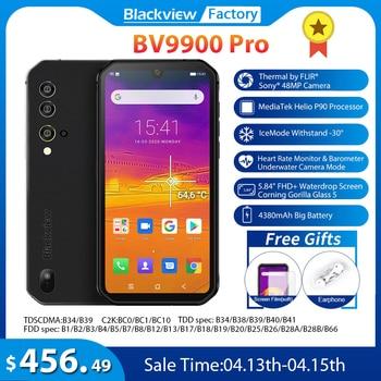 Blackview BV9900 Pro Thermal Camera Mobile Phone 8GB+128GB Helio P90 Octa Core Smartphone 48MP Quad Camera IP68 Rugged phone 1