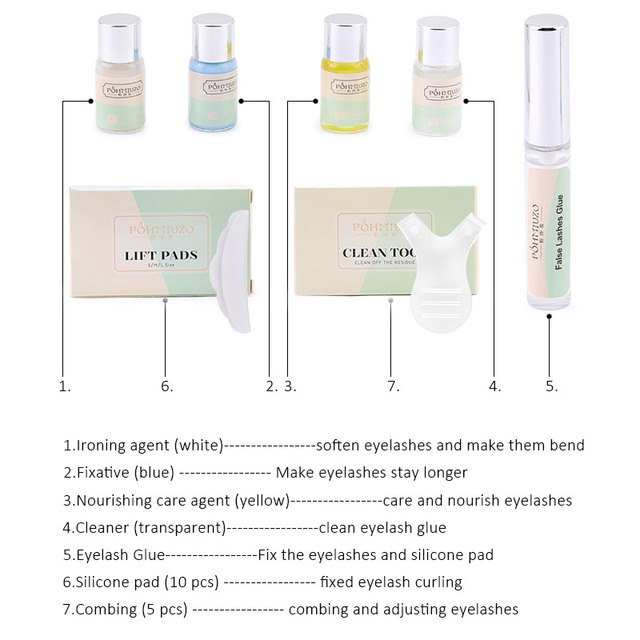 Professional Lash Lift Kit  2