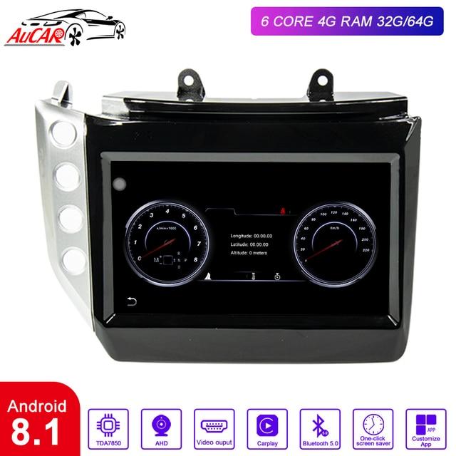 "AuCAR 9"" Android 8.1 DIN Car Radio for Maserati GT/GC GranTurismo 2007 - 2019 GPS navigation multimedia Stereo Audio DVD player"