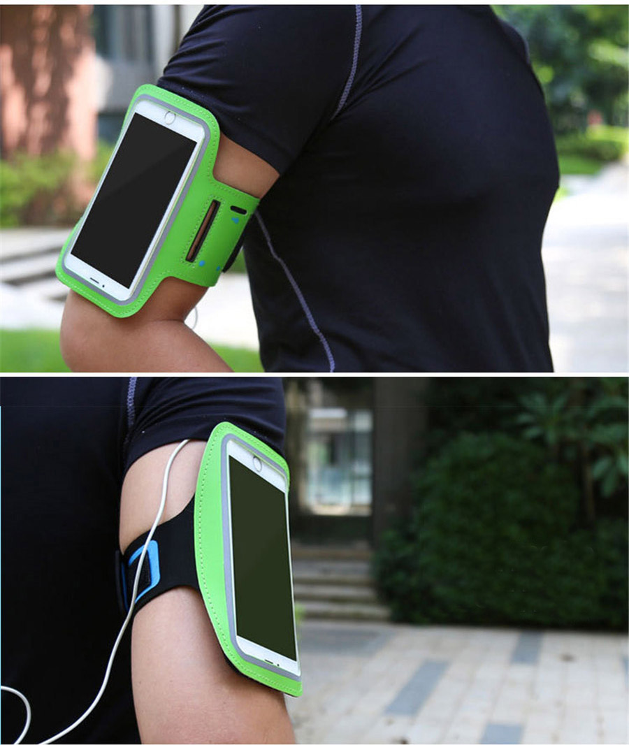 Купить с кэшбэком Armband-case Phone bag Sports Phone Holder Gym Universal Sports Outdoor Running Pouch For Samsung XiaoMi Iphone Huawei