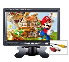 """7 بوصة صغيرة محمولة شاشة كمبيوتر محمول ذات دقة عالية TFT CCTV شاشة الأمان رصد سيارة 10.1 """"لعبة صغيرة رصد الكمبيوتر ويندوز 7 8 10 PS3 4 Xbox360"""