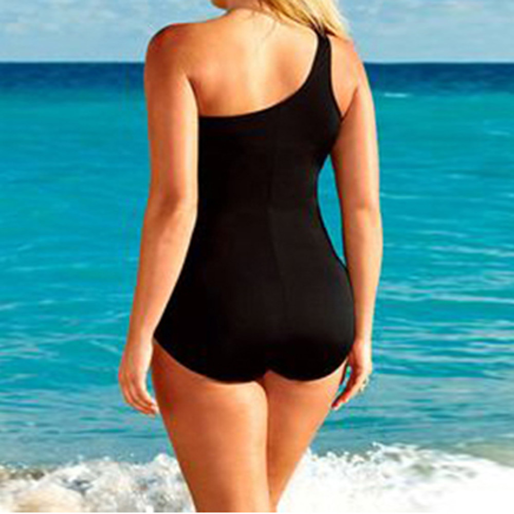 Bikinis 2020 mujer Women One Piece Swimsuit Swimwear Plus Size Padded Monokini Bikini Set Bathing Maillot de bain Femme#Y20 3