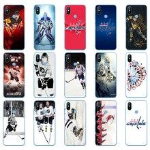 40DD Ice Hockey Alexander Ovechkin Sidney Crosby Soft Silicone Cover Case