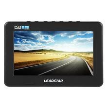LEADSTAR televisor portátil HD de 7 pulgadas, DVB T/T2, Mini televisor analógico Digital para coche, con soporte, Monitor de tarjeta TF para PS4