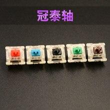 Greetech-Interruptor de teclado mecánico para jugar, en rojo, negro, marrón, azul y verde, SMD, compatible con cherry mx Keyswitch ducky filtro
