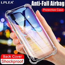 Soft TPU Silicone Shockproof Case For Xiaomi Redmi mi 9 9T Pro SE 8 mi A2 Lite A3 CC9 CC9E Mix 2S 3 A1 6X 5X Transparent Cover(China)