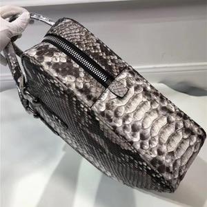 Image 2 - Genuine Python Leather Businessmen Laptop Briefcase Man Large Purse Authentic Real Snakeskin Male Top handle Handbag