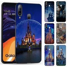 Silicone Phone Case for Samsung Galaxy J4 Core J6 Plus or J7Duo J8 Cover Disney Castle(China)