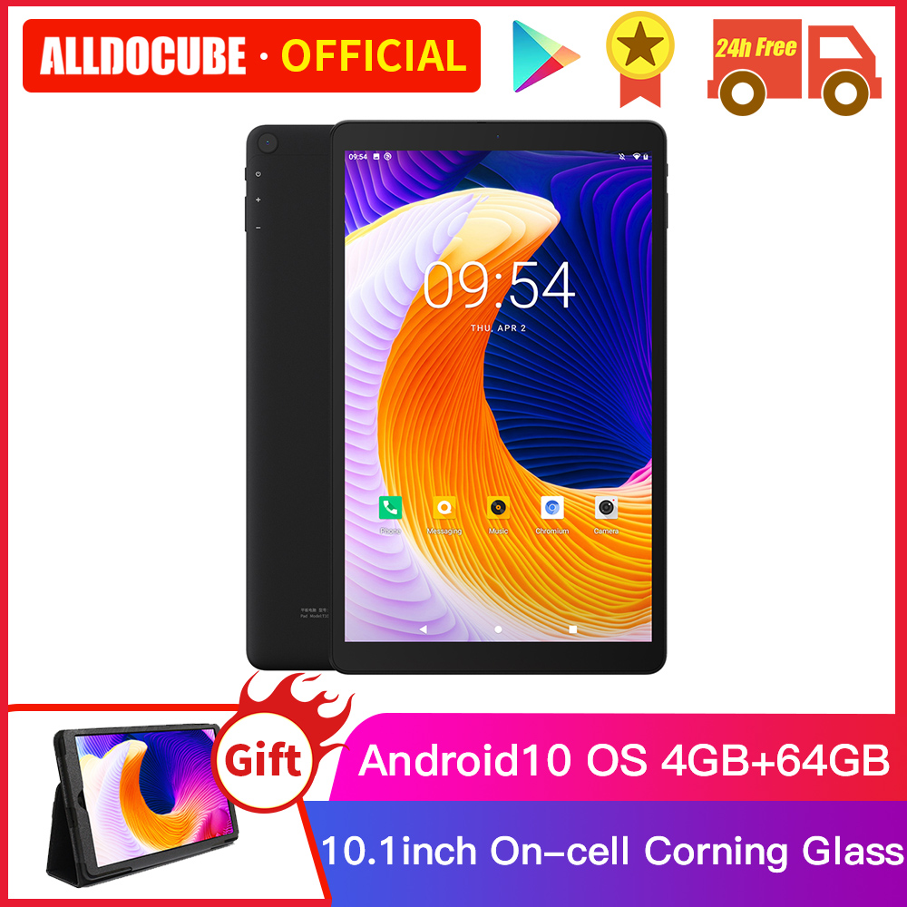 ALLDOCUBE IPlay20 10.1 Inch Android 10 Tablet 4GB RAM 64GB ROM SC9863A  Tablets PC 1920*1200IPS