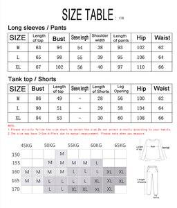 Image 5 - 7 個シルクパジャマ女性パジャマセットの秋冬夏トップス + ショートパンツ + シャツ + パンツファッションセクシーなパジャマセット