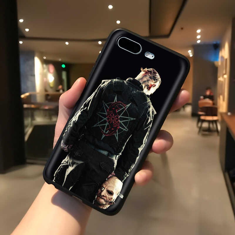 YIMAOC Slipknot payaso Corey Taylor suave de silicona caso para iPhone 11 Pro XS Max XR 8X8 7 6 6S Plus 5 5S SE