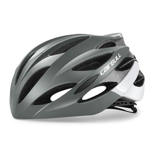 Cairbull ultraleve ciclismo capacete de corrida com óculos de sol intergrally-moldado mtb capacete da bicicleta de estrada de montanha capacete 5