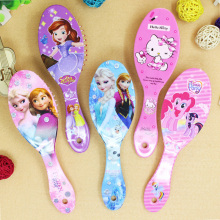 Disney Frozen Girls Comb Sofia Princess Minnie Little Pony Girls Cute Massage Comb Mickey Comb Disney Cartoon comb Toys gifts