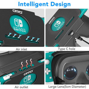 Image 4 - OIVO Công Tắc Lite VR Tai Nghe Cho Nintend Công Tắc Lite LABO VR Thực Tế Ảo Phim Công Tắc Trò Chơi 3D VR Mắt Kính odyssey Trò Chơi