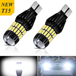 2x T15 921 W16W led Canbus LED Bulb Car Backup Reverse Lights for Audi A4 B8 B6 A3 8P RS5 A6 C5 C6 C7 A7 A8 Q5 Q7 S4 S5 S6 TT