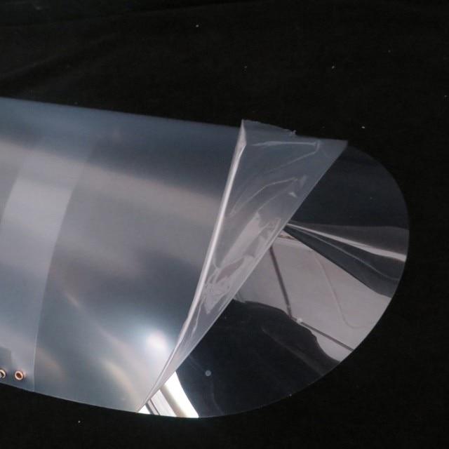 Anti-fog artifact protective cap PET Transparent Safety Hat Face Shield Anti-Saliva Virus Dustproof Flip-up Face Protection Mask 3