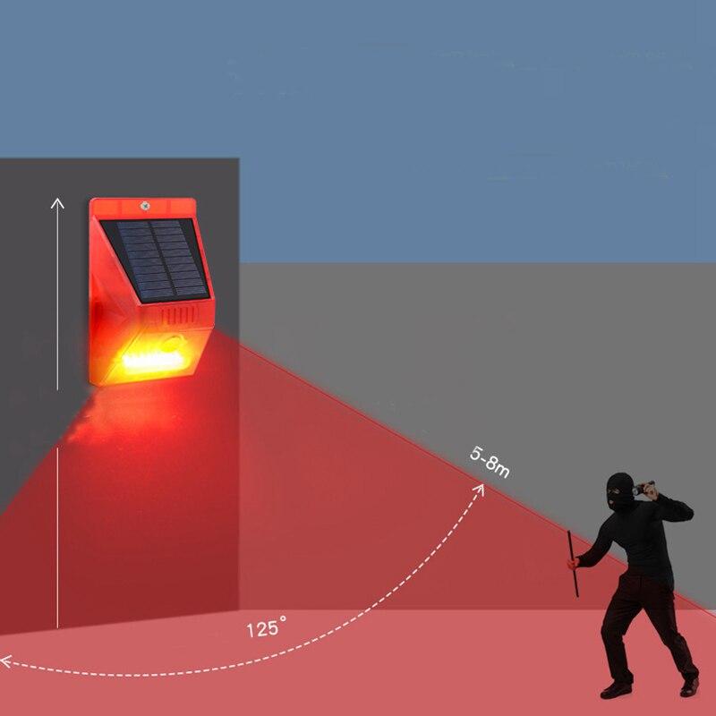Solar Alarm Lamp 11