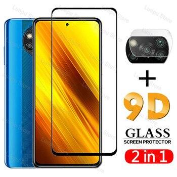 Tempered Glass for Xiaomi Poco X3 NFC M3 Pro Camera Lens Film  Full Cover Screen Protector for Xiaomi poco m3 f3 GT x3 pro Glass 1