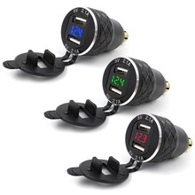Для 42a 5v мотоциклов dual usb Зарядное устройство гнездо адаптера