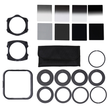 Andoer Universal Neutral Density ND2 4 8 16 Filter Kits for Cokin P Set SLR DSLR Camera Lens Camera Photo Accessories