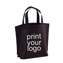 small MOQ 70 80gms non woven custom printed bags shopping tote bag pick your color make your size add your logo tanie tanio QZCFCB20190802004 No Zipper 13inch WOMEN Solid Classic Shopping Bags pick the color you like custom made