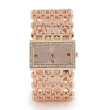Luxury Bracelet Wrist Watches For Women Stylish Fashion Gold Alloy Strap Ladies Watch Women's Clock reloj mujer montre femme
