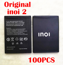 цена на Original 100PCS 2200mAh inoi2 Battery For INOI 2 Lite INOI2 Lite Phone In Stock NEW Produce High Quality Battery+Tracking Code
