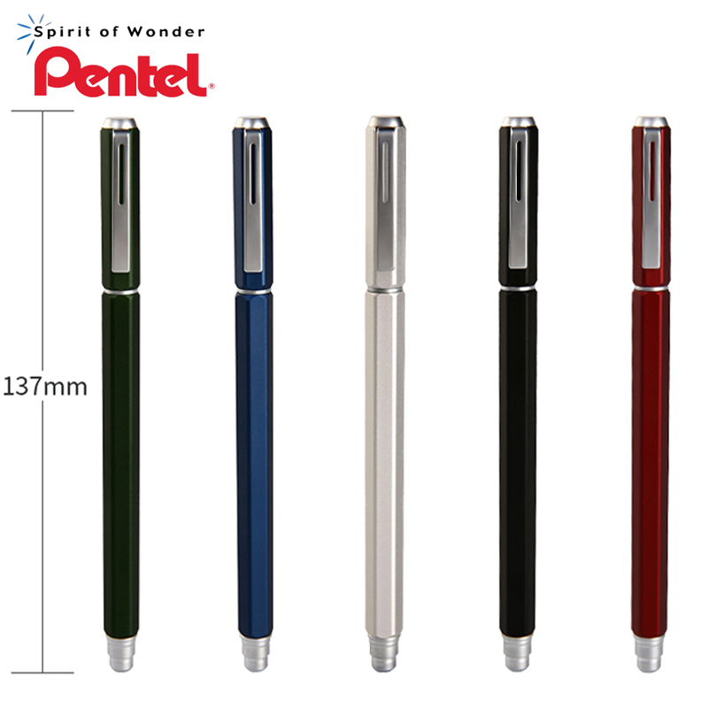 1 шт. гелевая ручка Pentel 0,5 мм BLN665 металлическая игла для быстрой сушки