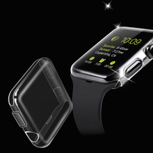 Case Apple Watch Full-Cover All-Inclusive Transparent-Protector 42MM 44MM for 6-5/4 40MM
