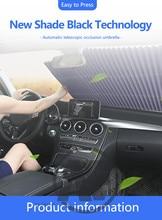 שדרוג רכב שמשה קדמית צל שמש אוטומטי הארכת רכב חלון שמשיה מגן שמש מגן רכב שמשיה visor