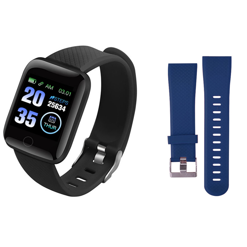 116 Plus Smart Wristband D13 Sports Fitness Bracelet D18 Smart Bracelet Blood Pressure Measurement Pedometer Smartband Watch