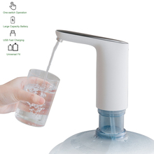 A-  Water Bottle Pump,Water Dispenser USB Charging Automatic Drinking Bottled Drinking Water For Home Office mini water dispenser cooler drinking water fountain hot cold water machine for home office