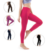 Yoga Pants Women High Waist Stretch Push Up Fitness Leggings Solid Color Multicolor Lulu Colorvalue Gym