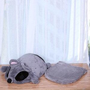 Image 3 - CAWAYI KENNEL 부드러운 애완 동물 집 개 침대 개 고양이 작은 동물 제품 Cama Perro Hondenmand Panier Chien Legowisko Dla Psa