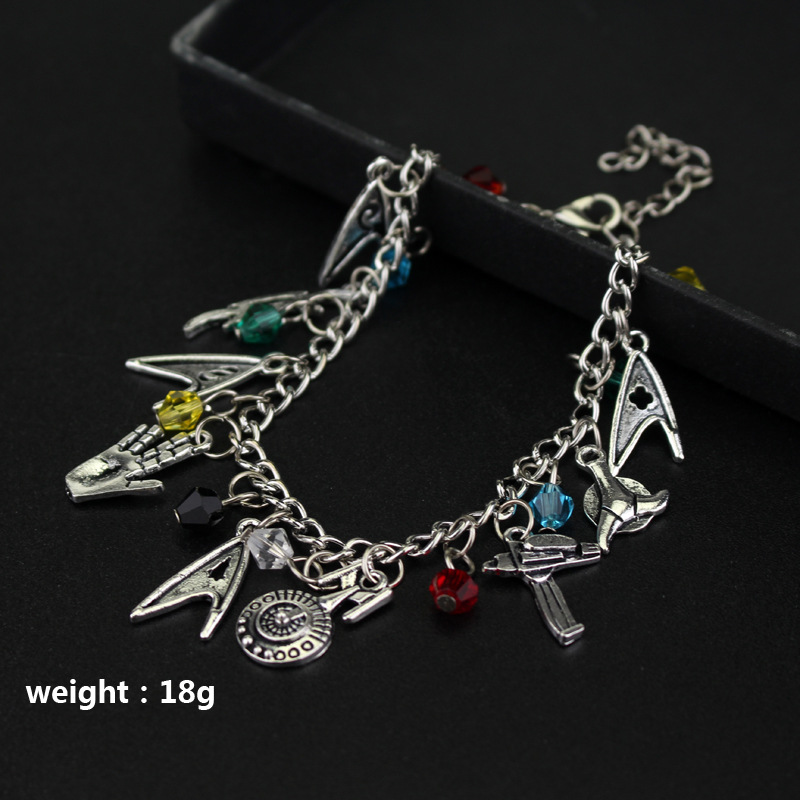 Hot Selling Star Trek Bracelets Hot Sales Women's Combination Bracelets